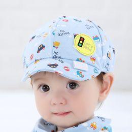 Wholesale Car Hat Crochet - Baby Kid Boy Girl Toddler Infant Hat Little Car Baseball Beret Cap