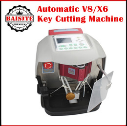 Wholesale Jeep X6 - 2017 New Arrival Automatic V8 X6 car Key Cutting Machine V8 X6 Auto Key Programmer Fast x6 key machine with good feedback