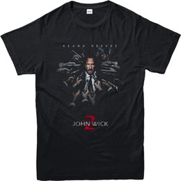 Wholesale Quality Poster Printing - Summer Casual Man T Shirt Good Quality John Wick T-Shirt, Keanu Reeves Poster T-Shirt, Inspired Design Top (JWKRP)