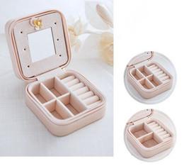 Graduierung süßigkeiten boxen online-Housekeeping Hot Schmuck Verpackung Box Casket Box Für Exquisite Make-Up Fall Kosmetik Beauty Organizer Container Boxen Graduation