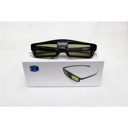 Wholesale 3d Projector Shipping - Wholesale- New Arrival Shutter 120Hz DLP Projector 3D Glasses Shutter 3D For Side by Side  Up and Down All 3D Moive Glass Free Shipping