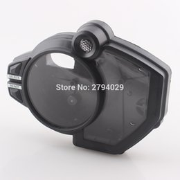 Wholesale Black Yamaha R1 - New Black Speedometer Tachometer Clock Case Cover Fits for Motorcycle Yamaha YZF R1 2009-2012 Custom Free Shipping