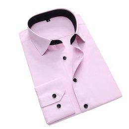 Dropshipping camisetas on-line-Atacado Dropshipping camisa Casual manga comprida camisa impressão Casual Masculina Masculina Slim Fit Homens Shirts camisa masculina sociais