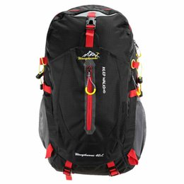 Wholesale Water Check - Unisex Outdoor Backpack 40L Hiking Trekking Bag Camping Travel Water-resistant Pack Mountaineering Climbing Bags Knapsack