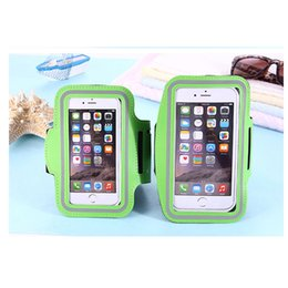 """Wholesale outdoor waterproof covers - Outdoor Pocket WaterProof Arm band Sport Gym Running Armband Protector Soft pouch Case Cover For iphone 6 7 plus 5.5"""" 5.8 inch For S8 8 Edge"""