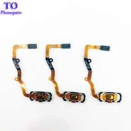 Wholesale Cable Menu - For Samsung Galaxy S7 G930  S7 Edge G935 Home Button+Fingerprint Sensor Menu keypad Return Button Flex Cable