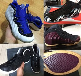 Wholesale Cheap Penny - Free Shipping Penny Sports Shoes Newest Mens Cheap Basketball Arrival Penny hardaway Basketball Shoe waterproof shoes Size US8-US13