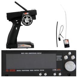 Al por mayor- Top Deals Flysky GT3B FS-3 2.4GHz RADIO SENDER AUTO BOAT control remoto desde fabricantes