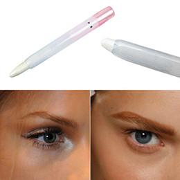 Wholesale Eye Shadow Pen Makeup - Wholesale- Glitter Pearl White Eyeliner Glisten Pen Eye Shadow Eyelid Pencil Makeup Tool Store 52