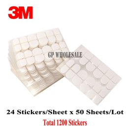 Wholesale Double Sided Nail Tape - Wholesale- 2016 1200 stickers Original 3M Double Side Adhesive Glue False Nail Transparent Sticker Best 3m Safe Sticky Tape for False Nail