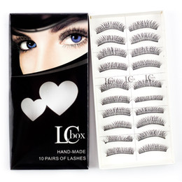 Wholesale Wholesale Per Pair - Wholesale LCBOX Brand False Eye Lashes No. 3 lashes 10 pairs per box super natural with gift box