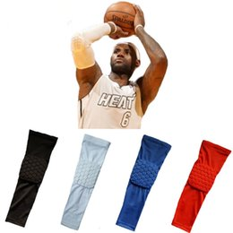 New Fashion Hot Basketball Baseball Sport Shooting Arm Warmers Sleeve Stretch Wristband Arm Band Sleeve For Men E2shopping Jl Non-Ironing Men's Arm Warmers Men's Accessories