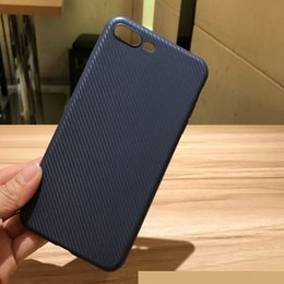 Wholesale Carbon Fiber Usa - Designed for USA TPU Case For iPhone6 Plus carbon fiber Cases Ultra Thin Silicone Samsung Galaxy Note5 Edge A5 A7 A8
