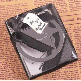 Graduação Cap Metal Bookmark Com Elegante Lantejoulas Partido Preto Lantejoulas Partido Faovr Presentes Para Convidado supplier souvenir cap de Fornecedores de boné de lembrança