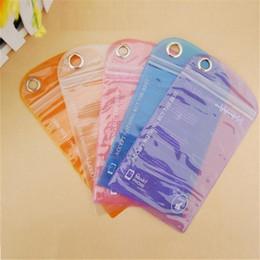 Wholesale Chinese Waterproof Phone - Universal PVC plastic bag mobile phone waterproof bag pudding membrane self-styled waterproof case dry bag for iphone 7 plus xiaomi