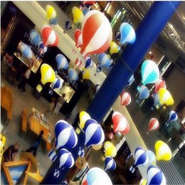 Wholesale Paper Lanterns For Decoration - 12 Inch Hot Air Balloon Paper Lantern for Wedding Party Birthday Decorations Kids Gift Craft 30CM