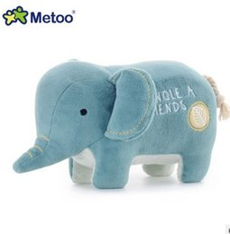 Wholesale Girl Hippo - 4.7 Inch Plush Sweet Cute Stuffed animals Baby Kids Toys for Girls Birthday Christmas Doll Chick Metoo Doll