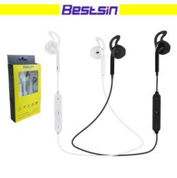 Wholesale Wholesale Running - Bestsin S6 Wireless bluetooth headphone Stereo Cellphone in-ear headset with microphone outdoor sport running for smart phone