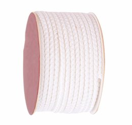 Wholesale Braided Wire Jewelry - 4mm White Dragon Squama Braid Nylon Cord Thread+18m roll DIY Jewelry Accessories Macrame Rope Bracelet Necklace Wire String