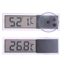 Canada Nouvelle voiture thermomètre Osculum Type LCD Thermomètre numérique monté sur véhicule Celsius Fahrenheit pour voiture Thermomètre numérique Celsius Offre