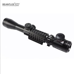 Wholesale Gun Telescopic Sights - Free Shiping riflescope 3-9x40EG Suitable for all Gun 11mm-20mm Mount For Optics Tactical Telescopic Sight outing Hunting