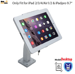 Wholesale Wall Mount Display Frames - tablet wall mount for iPad tablet display rack stand holder brace specialized frame box housing wall mount holder for ipad