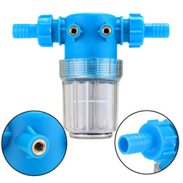 Wholesale Automobile Supply - Mayitr New Car Washer Universal High Low Pressure In Line Water Filter 20mm Hose Connector Automobiles Care Supplies