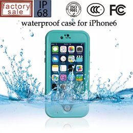Wholesale S3 Galaxy Redpepper - Redpepper Waterproof Case Shock proof case For Iphone 4S 5S 5C 6 6S Plus Samsung Galaxy S3 S4 S5 S6 Note 2 3 4 with retail box