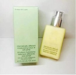 Wholesale Wholesale Branded Products - 2017 Wholesale brand Face Skin care products butter dramatically different moisturizing lotion+  gel lotion gel oill butter 125ml 24pcs DHL