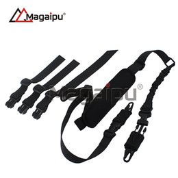 Wholesale Guns Sales New - Magaipu 2017 New gun sling Outdoor Camping Survival Sling Amazon Hot Sale New Two Point Tactical Elastic Gun Sling Strap With Shoulder Pad