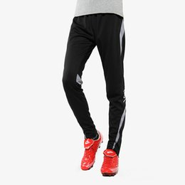 Wholesale Soccer Pants Wholesale - Wholesale- New Professional Kids Soccer Football Training Skinny Pants Child Boys Sports Running Pants Jogging Slim Leg Tracksuit Trousers