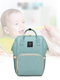 Wholesale Bags Mom - Diaper Mom Backpacks Brand Mom Nappies Bags Fashion Mother Backpack Diaper Maternity Backpacks Large Desinger Nursing Outdoor Travel Bags XT