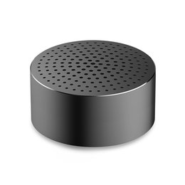 Wholesale Square Mp3 - Wholesale- 2016 Original Xiaomi Speaker Portable Wireless Bluetooth stereo Mini Square Box Outdoor for Mobile Phones and Pad Tablet
