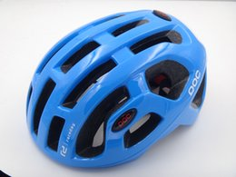 Wholesale Bicycle Print - POCs Octal 2017 Bicycle Cycling Helmet Casco Ciclismo Capacete Cascos Para Bicicleta Men Women Cycling Helmets Road Size L 54-61cm With Box