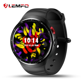 Wholesale Outdoor 3g - LEMFO LES1 3G Smart Watches 1.39 Inch Android 5.1 Quad Core RAM 1GB ROM 16GB 350mAh Battery GPS Heart Rate Monitor