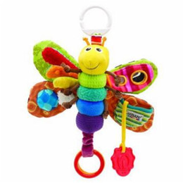 Wholesale Baby Rattle Lamaze - Lamaze Freddie The Firefly Baby Toddlers Rattle Toy Butterfly Multi Functional Toys Bed Bell Teethers Kids Product Gift