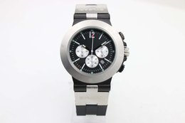 Wholesale Three Dial Mens Watch - Luxury Brand Limited Dark Dial Fashion Mens Watches White Stainless Steel Pointer Watch Three White Time Zone Watches Mens Wristwatches