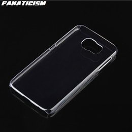 Wholesale Glossy Case S4 - Glossy Plastic Hard Clear Case For Samsung Galaxy S7 S6 Edge S5 S4 A3 A5 J1 J3 J5 2016 Case Crystal Transparent Cover
