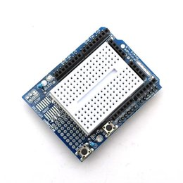 Wholesale Arduino Proto Shield - Smart Electronics UNO Proto Shield Prototype Expansion Board With SYB-170 Mini Breadboard Based For Arduino UNO ProtoShield DIY