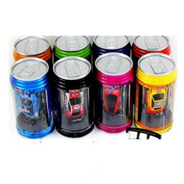 Wholesale Unit Toys - PERFECT Free Epacket 8 color Mini-Racer Remote Control Car Coke Can Mini RC Radio Remote Control Micro Racing 1:64 Car 8803