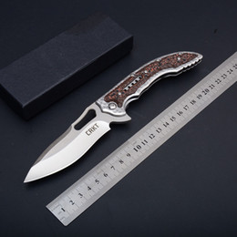 Wholesale Zytel Knife - New CRKT Tactical Folding Knife Outdoor Camping Hunting Survival Pocket Knife Flipper Military Utility EDC Tools