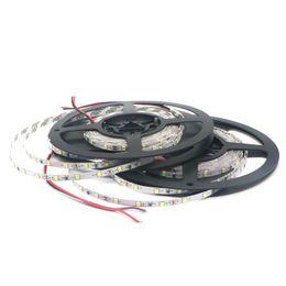 Wholesale 5mm Led 12v - Non-Waterproof SMD 2835 DC 12V Not Waterproof 5mm Width Narrow PCB 300Leds 5M LED Light Flexible Lamp Strip