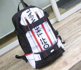 Wholesale Chocolate Skateboards - Man 2017 SPIT skateboard bag fashion backpack hip-hop backpack van Harajuku wind travel bags