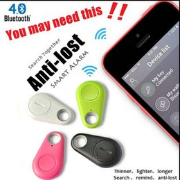 Wholesale Wholesale Tracking Devices - kids tracer iTag smart anti-lost alarm iTag smart key finder trackers device bluetooth anti-theft GPS IOS Android tracking for child best