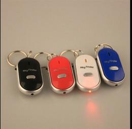 Venta al por mayor- Buscador de clave de sonido fácil Whistle Buscador clave Búsqueda clave Buscar con luz LED Gran ruido Control de sonido Buscador de clave perdida desde fabricantes