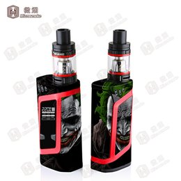 Wholesale Design Skin Sticker - Most Popular Smok Alien Box Mod Sticker Skin Cool Design SMOK Alien 220w Kit Wrap Vinyl Wholesale Free Shipping by DHL