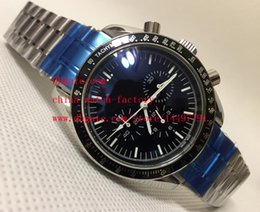 Wholesale Watch 45mm - Luxury High Quality Watch Sapphire Glass 45mm Pre-Owned 3510.50 Stainless Steel VK Quartz Chronograph Working Mens Watch Watches