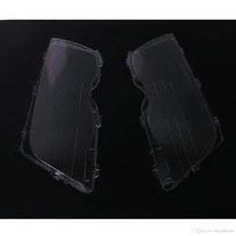 Wholesale Headlight Covers - 2x Transparent Housing Headlights Lense Shell Cover Lamp Assembly For BMW E46 3 Series 318i 320i 323i 325i 330i 1998-2001 #P433