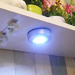 Wholesale Led Silver Stick Tap - DHL Free Shipping 3 LED Touch Light Stick Tap Touch Light Lamp Silver LED Touch light lamp Bulb