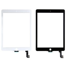 Wholesale Ipad 2nd Digitizer - New Glass Touch Screen Digitizer Replacement for iPad Air 2nd 6 GEN A1566 A1567 Tablet PC Accessories